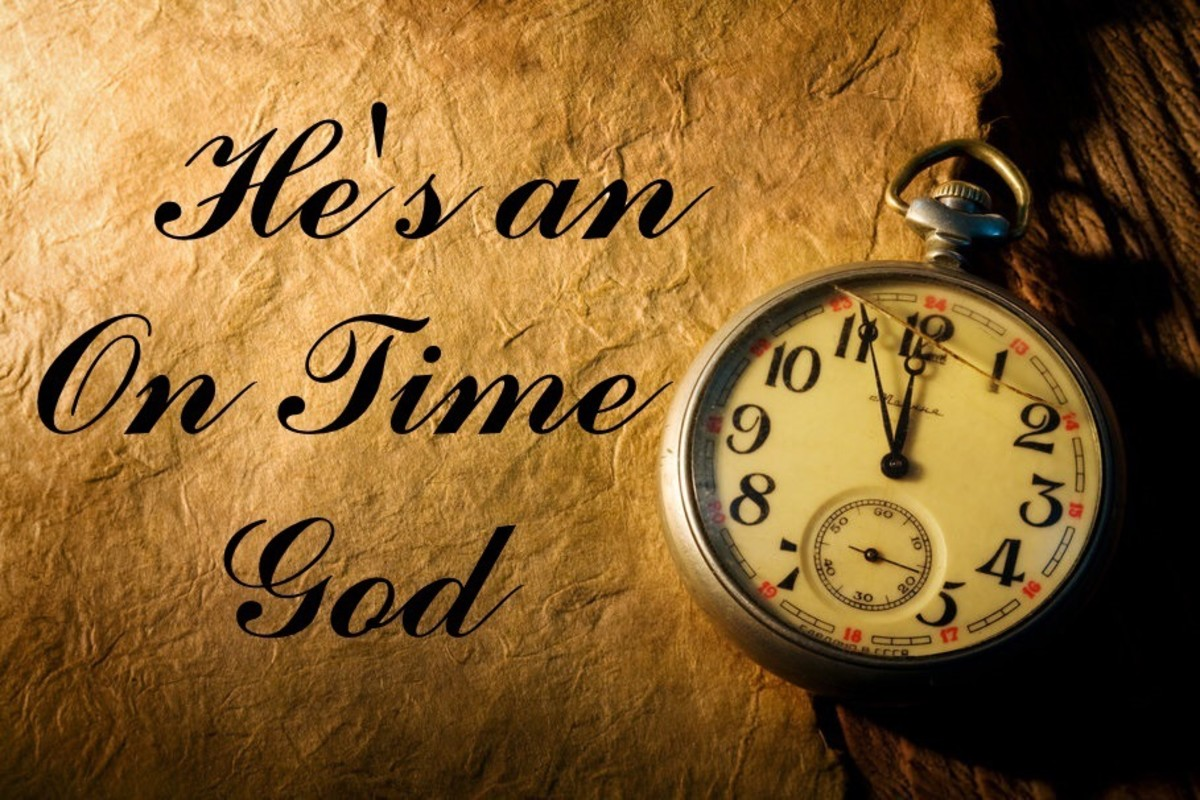 hes-an-on-time-god-is-not-based-on-scripture
