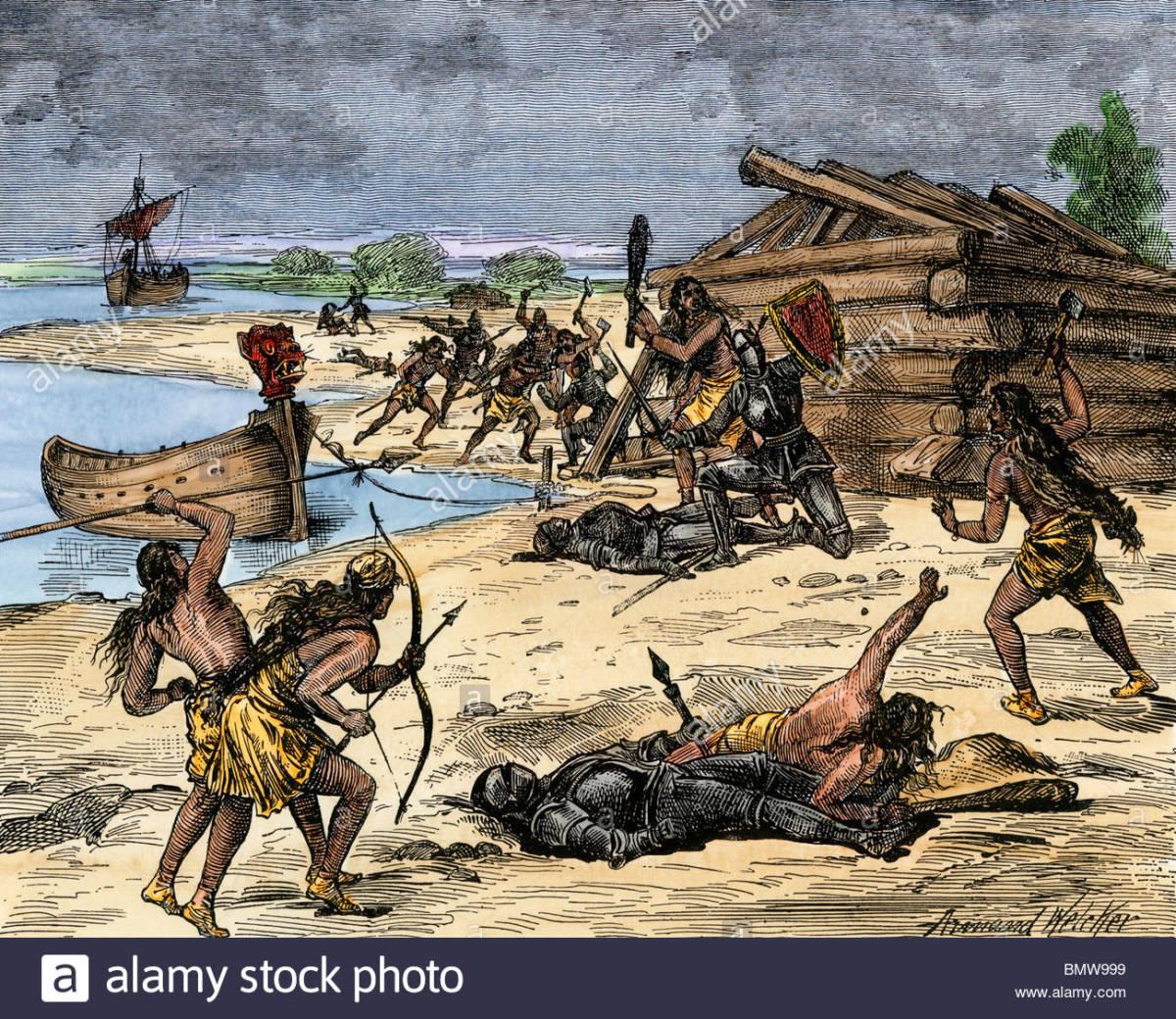 Indigenous Natives, Skraelings