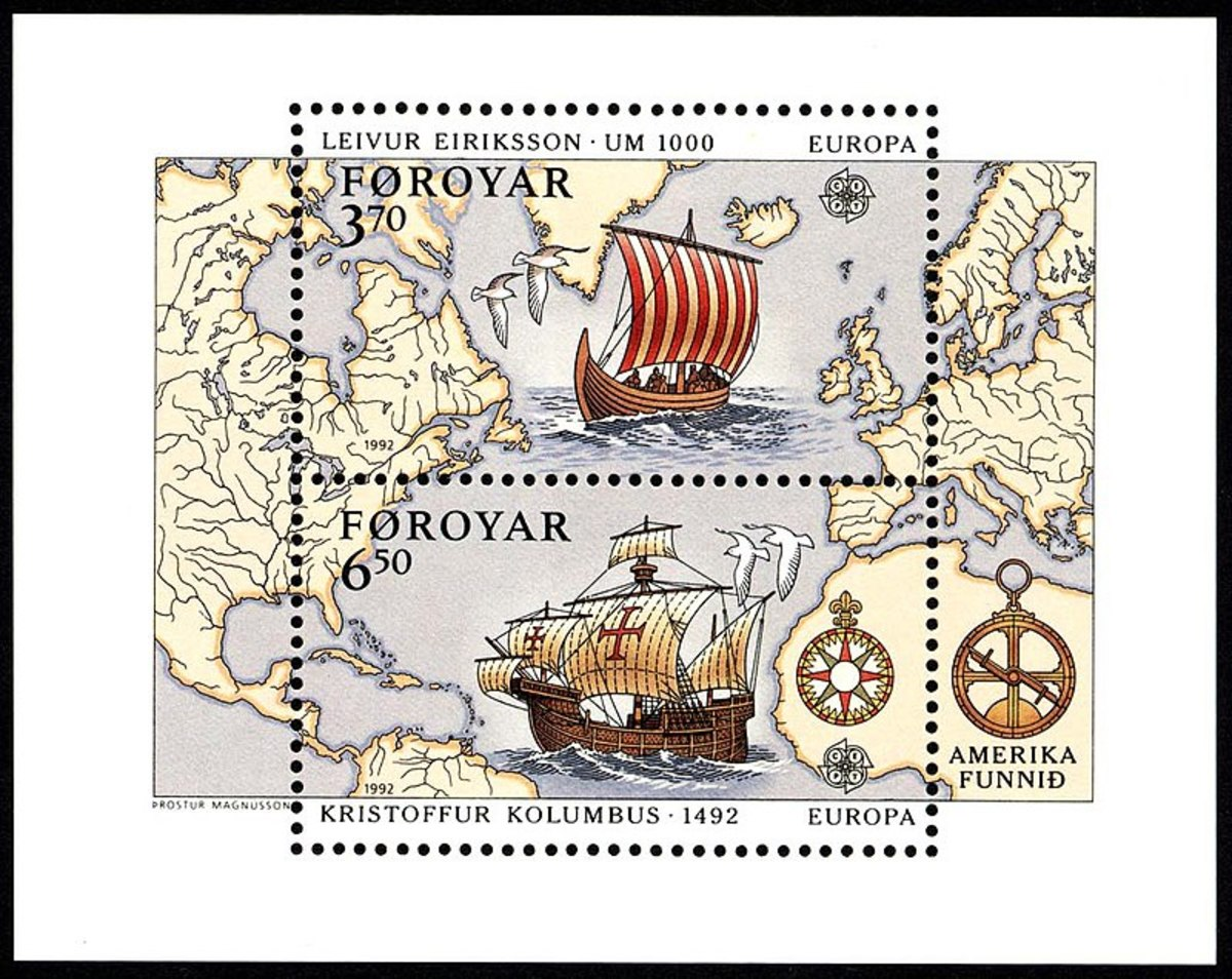 Stamp for Both Discoverers