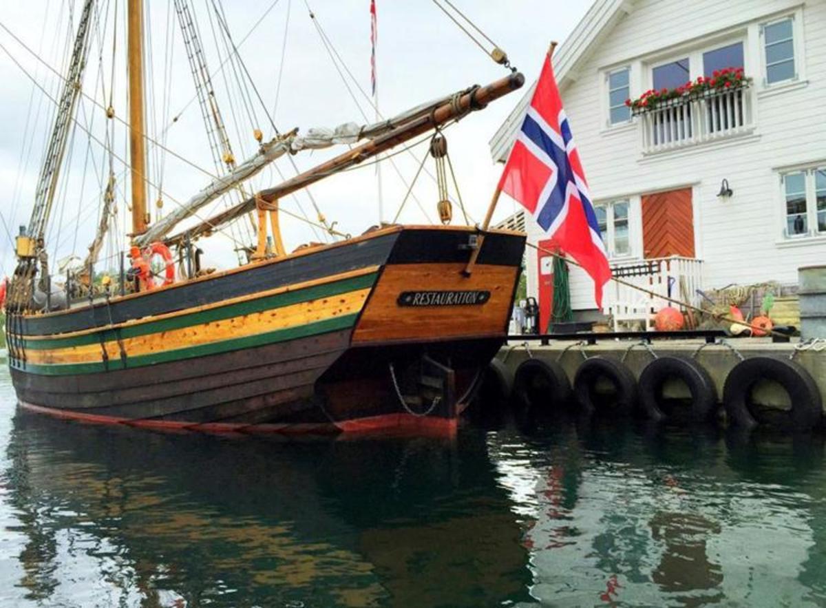 Replica of Ship Restauration 1825