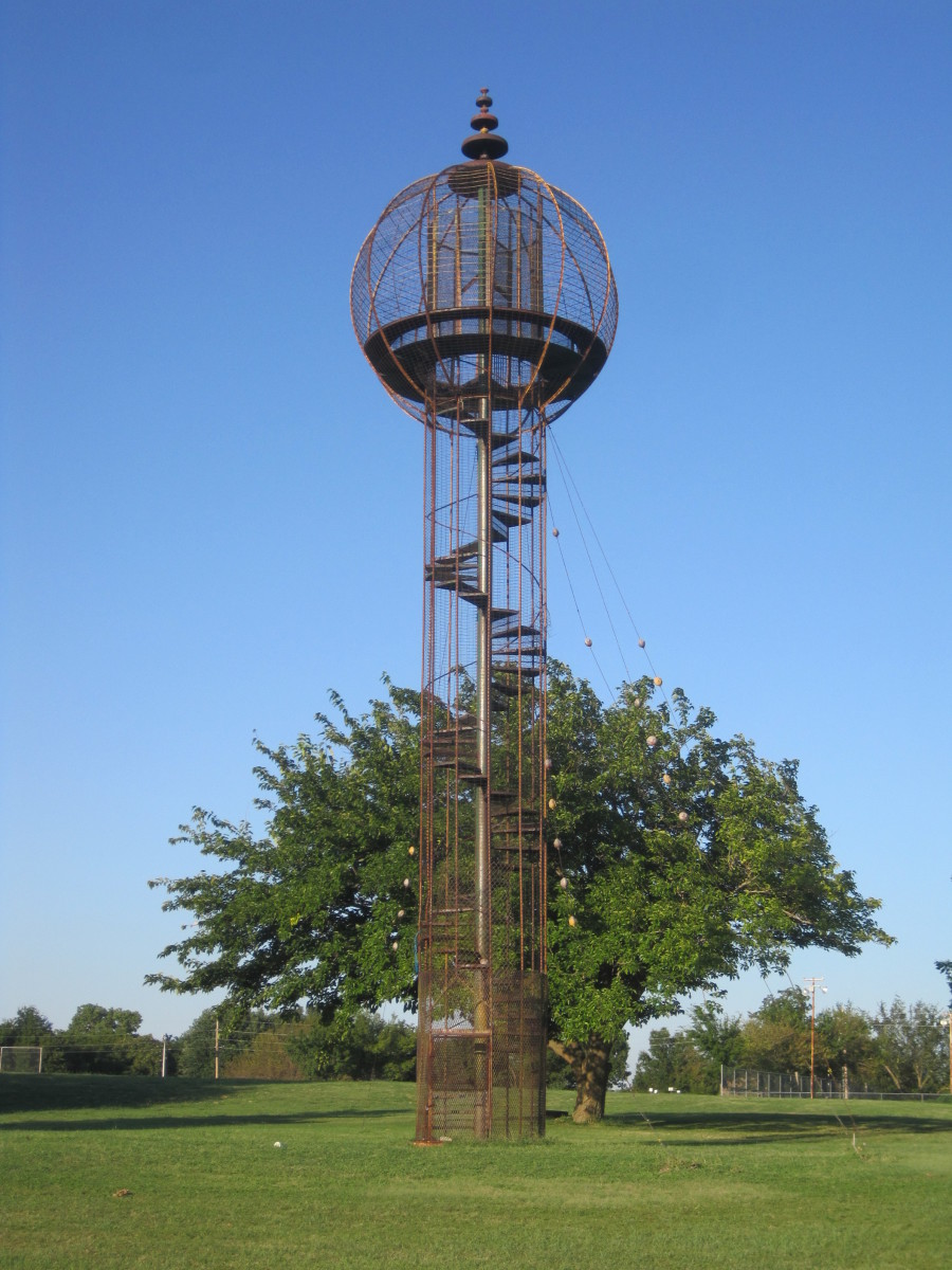 The Sooner Park Play Tower