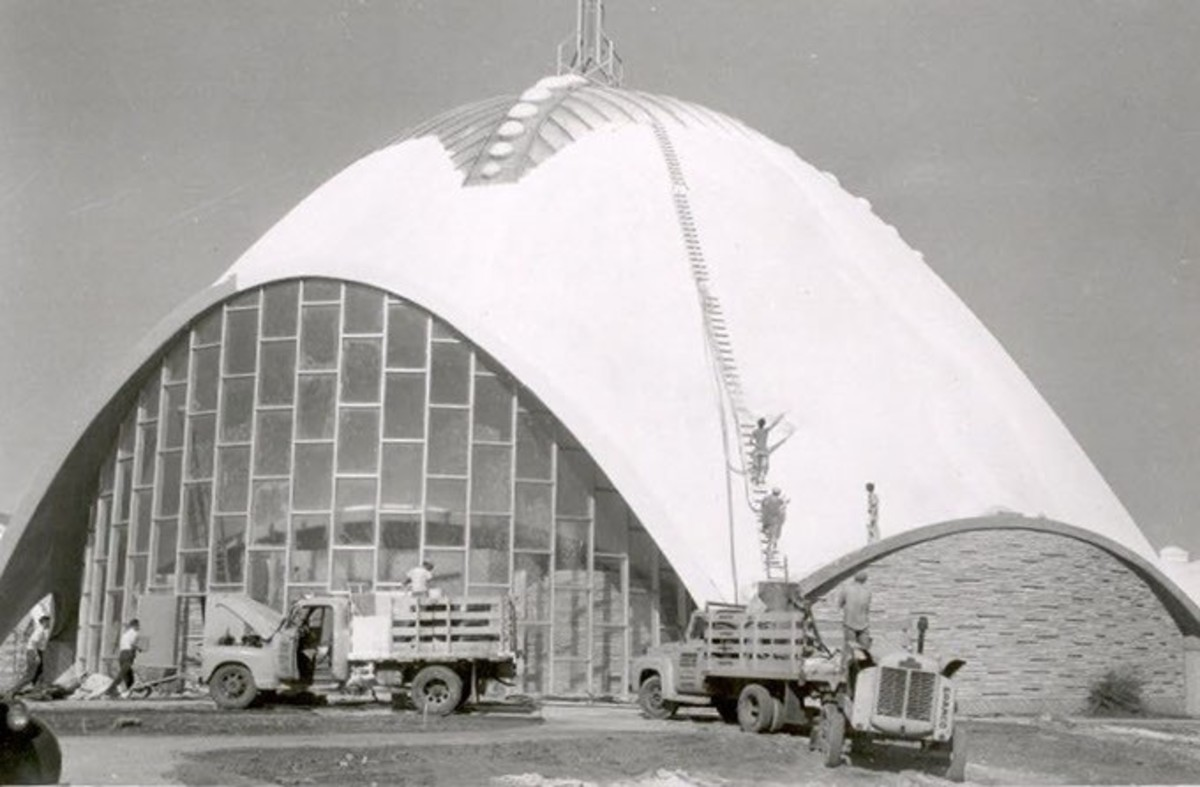 Construction of the Church of Tomorrow