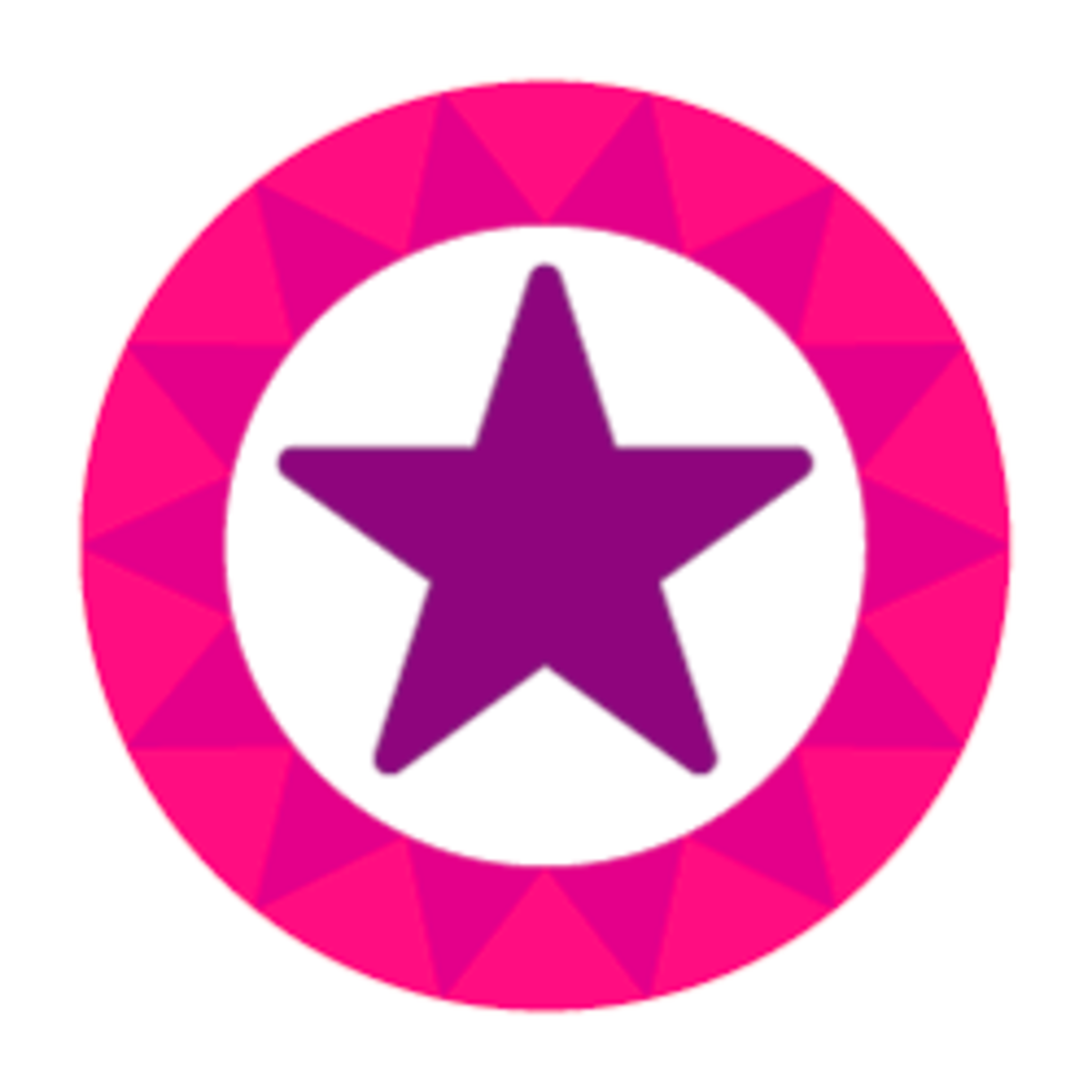 purple-star-lens