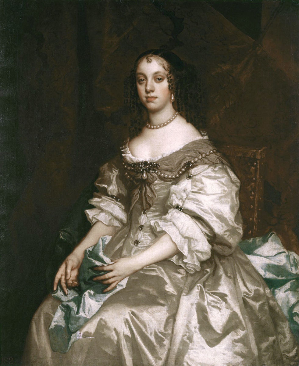 Charles II had officially married Catherine of Braganza but it was an unhappy marriage due to the king's womanizing ways.