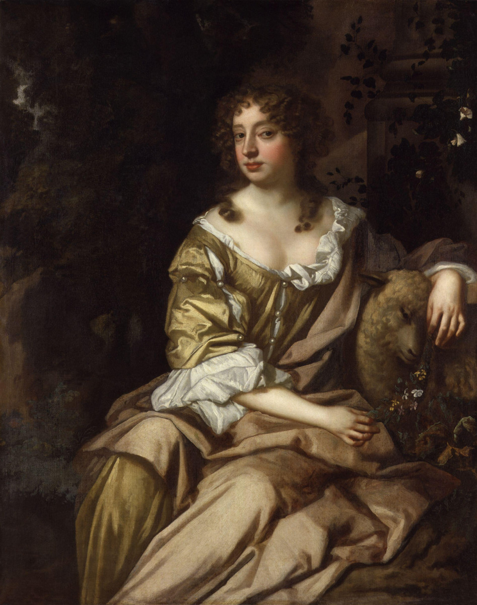 """Nell Gwyn was an actress who became yet another favorite of Charles II and was promoted to the title of """"royal mistress"""""""