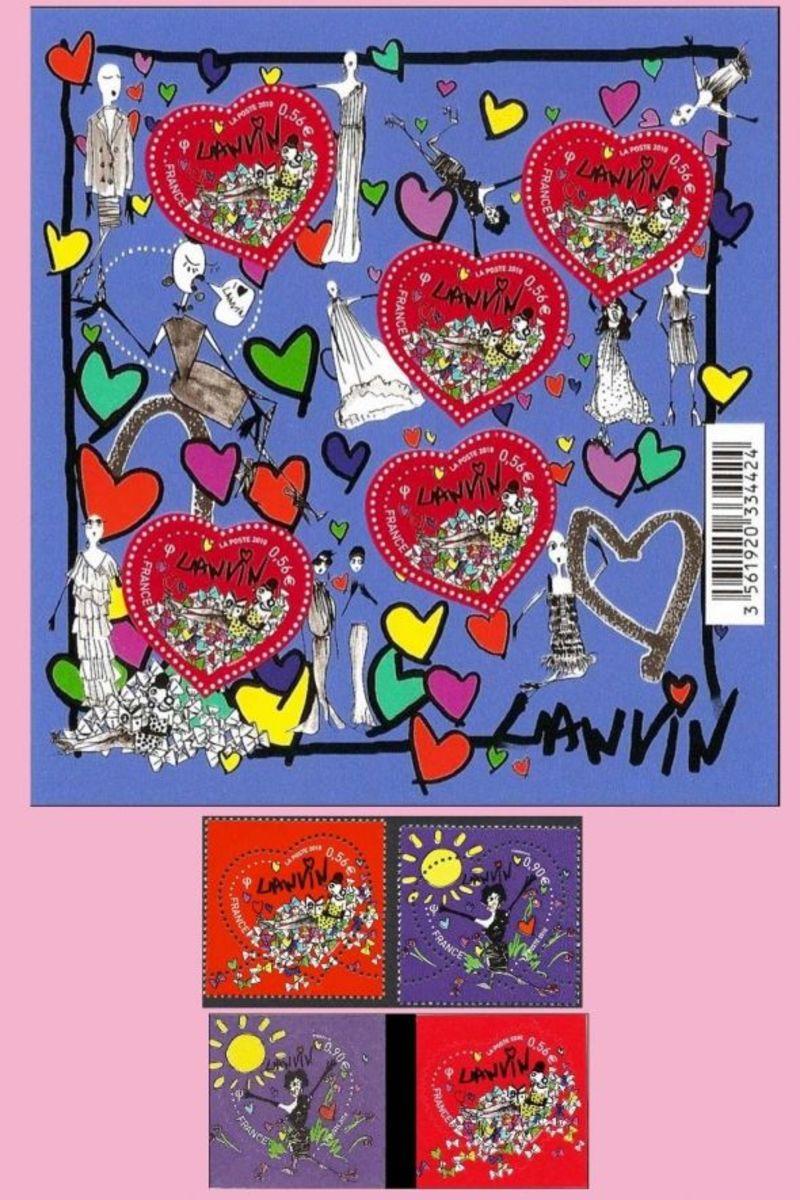 Lanvin designer stamps