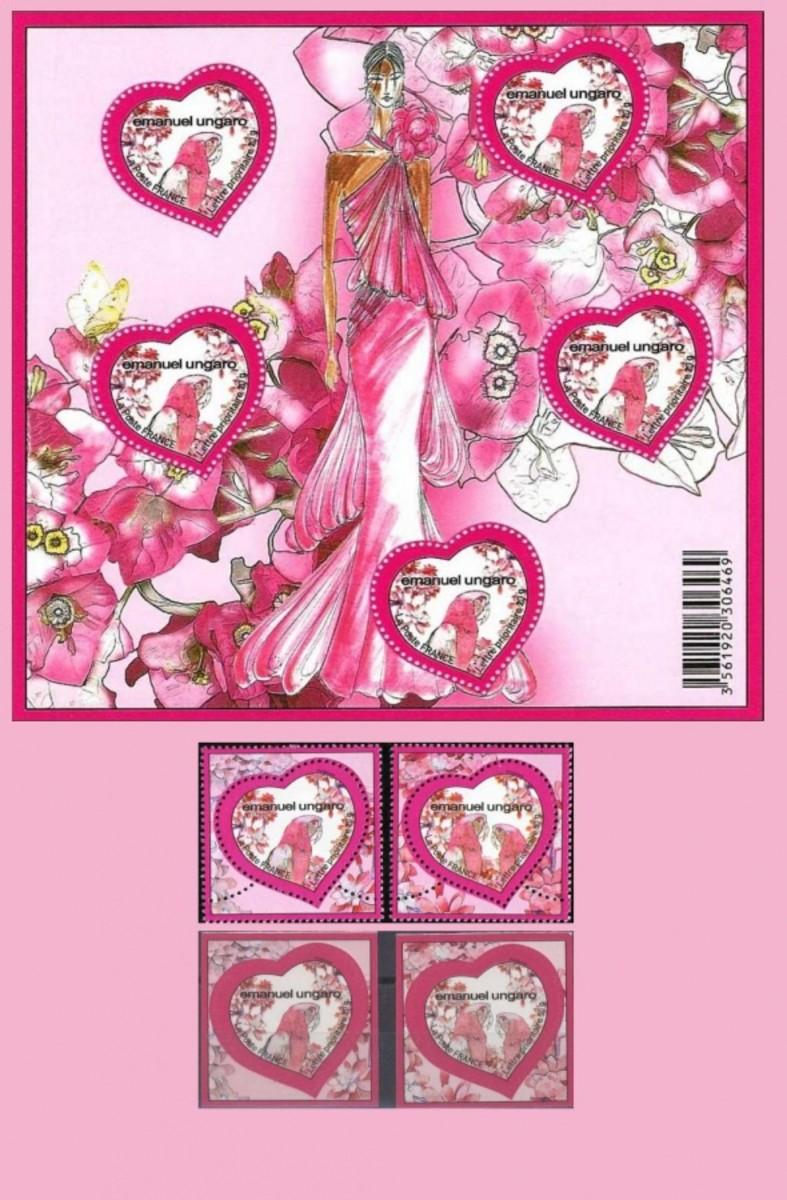 Ungaro Valentine stamps