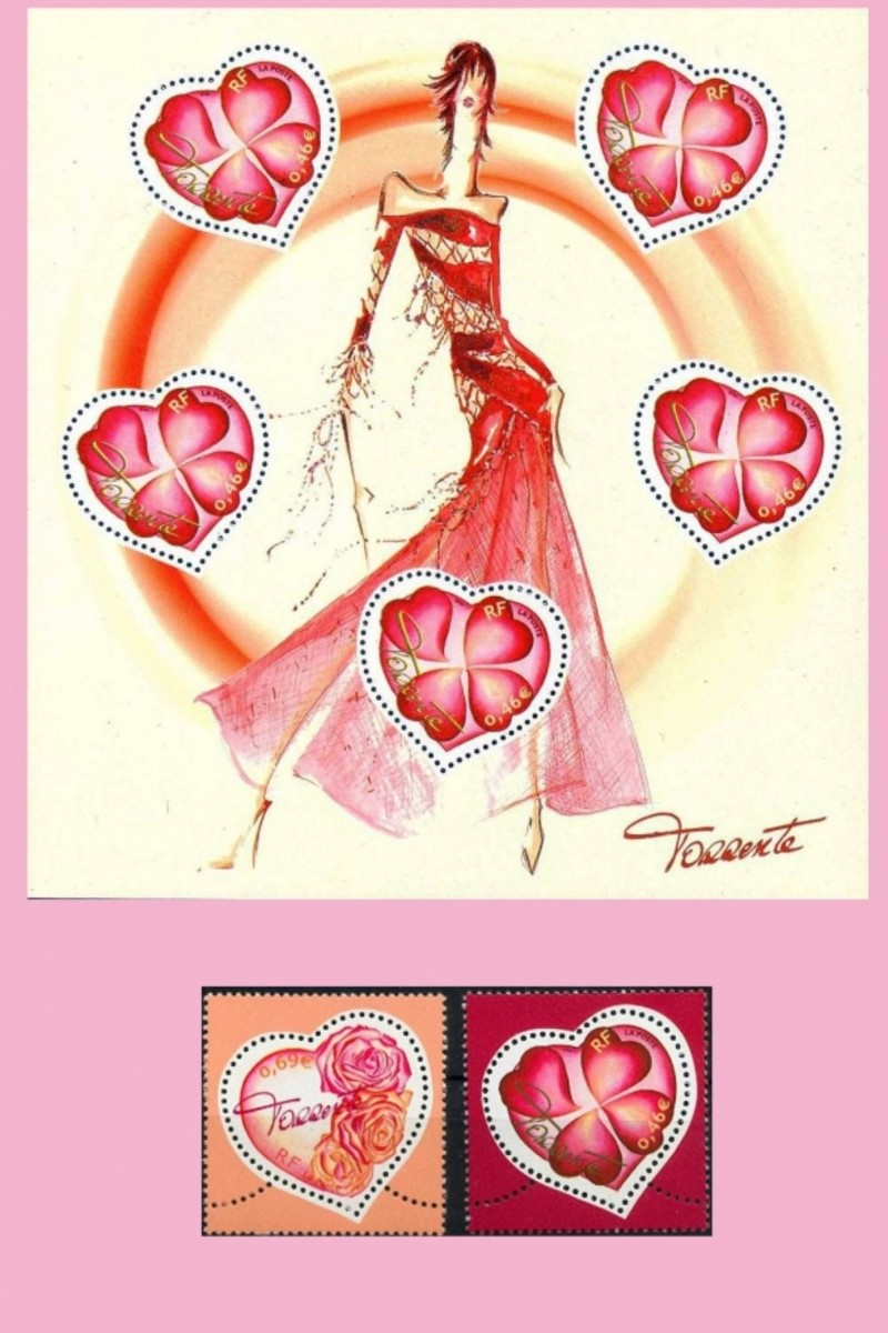 Torrente valentine stamps