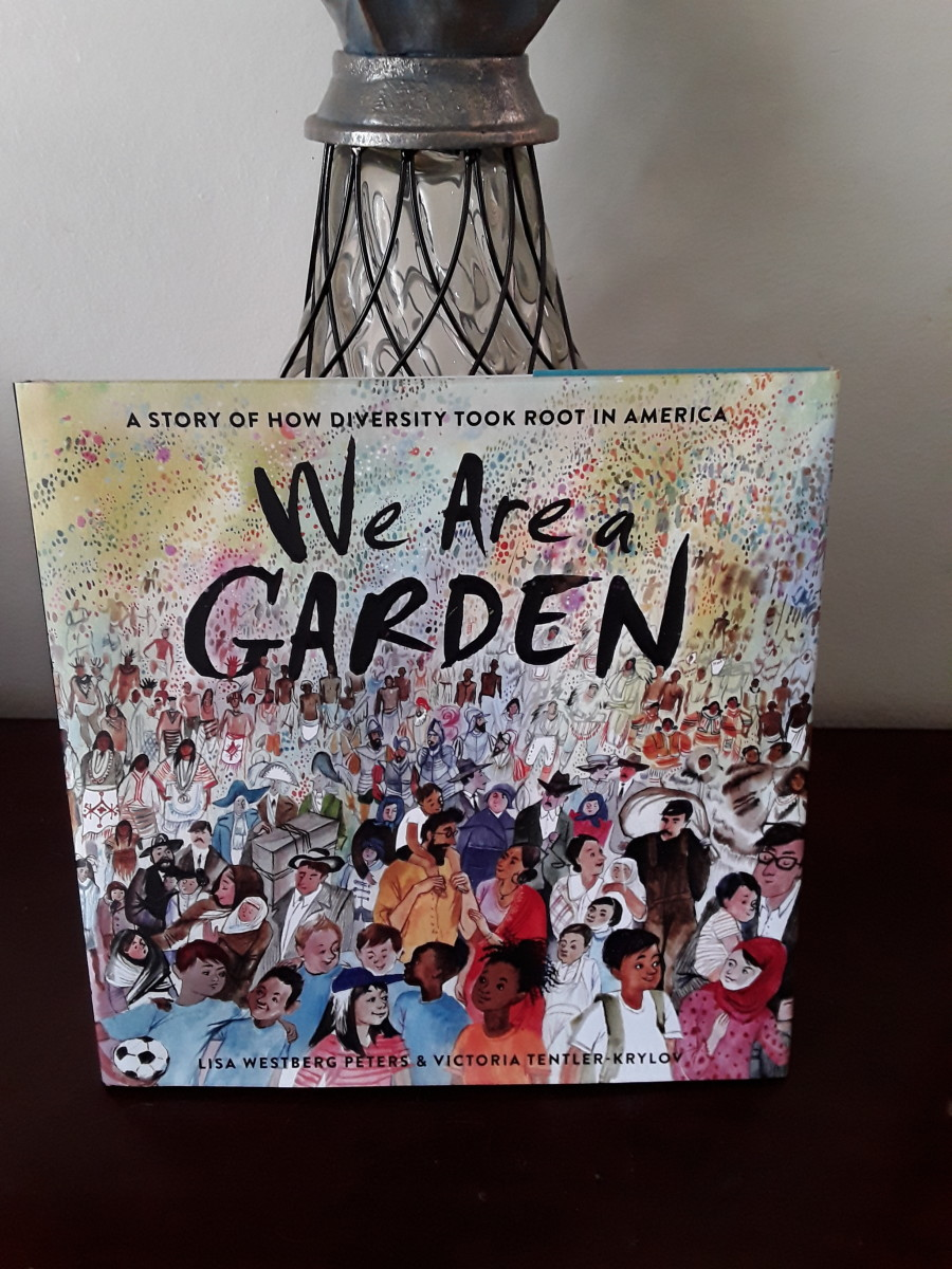 Picture book with the story of our country's diversity