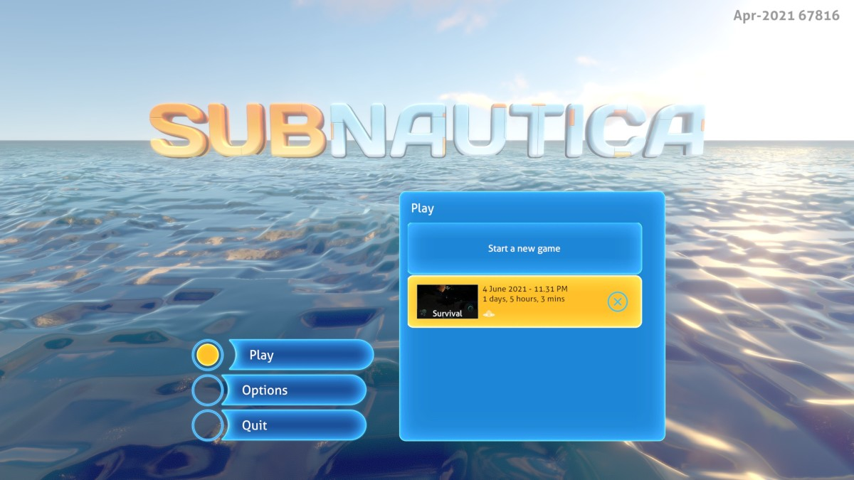 24 Hours Under the Sea: A Game Review of Subnautica