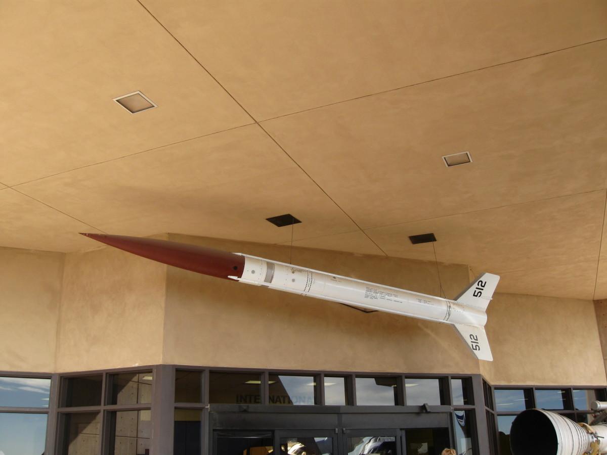 Aerobee X-8C Rocket