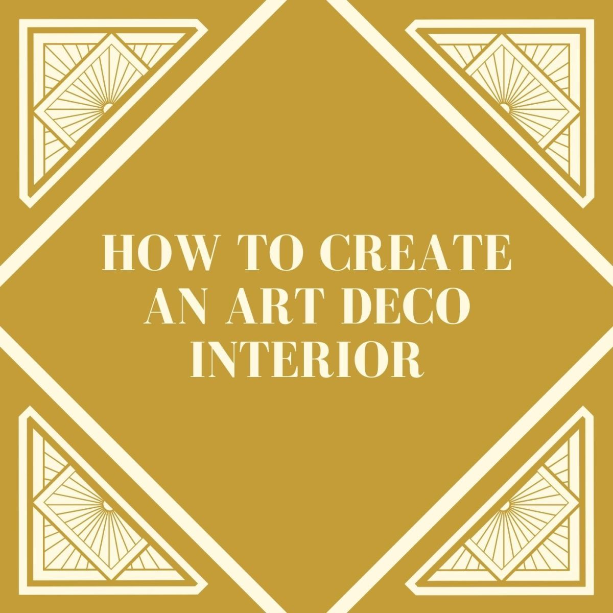 Read this article to get your Art Deco inspirations up and running.