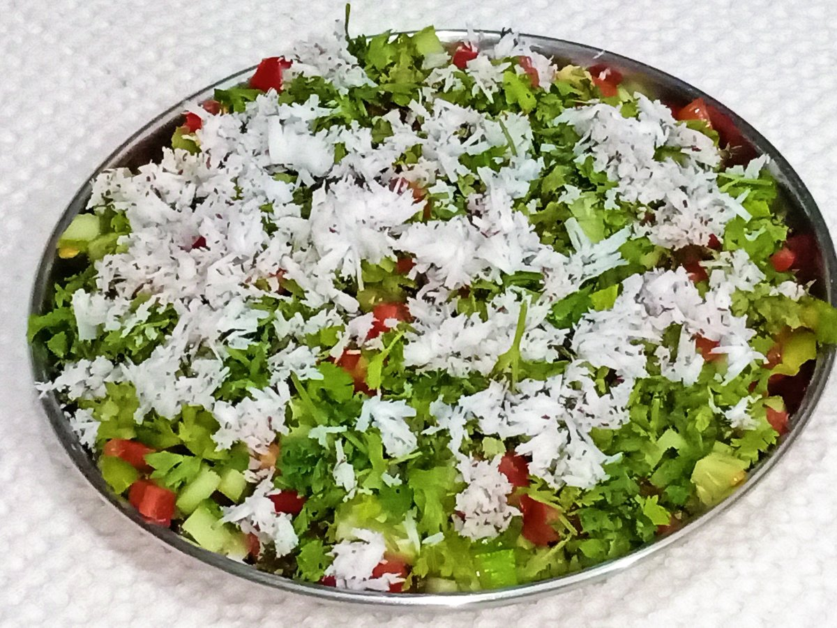 Raw Vegetable Salad Recipe For Detox and Weight Loss