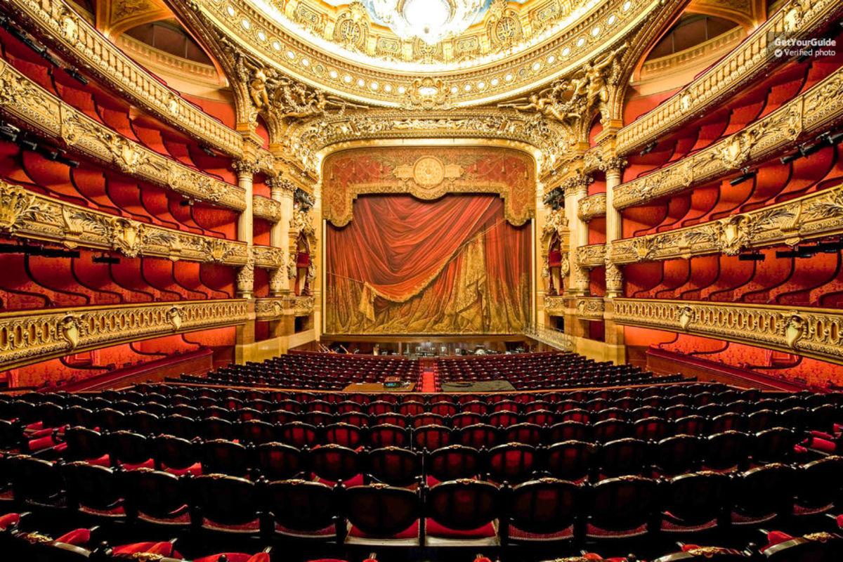 Inside the famous Palais Garnier