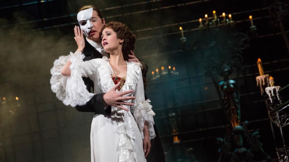 Scene from Phantom of the Opera