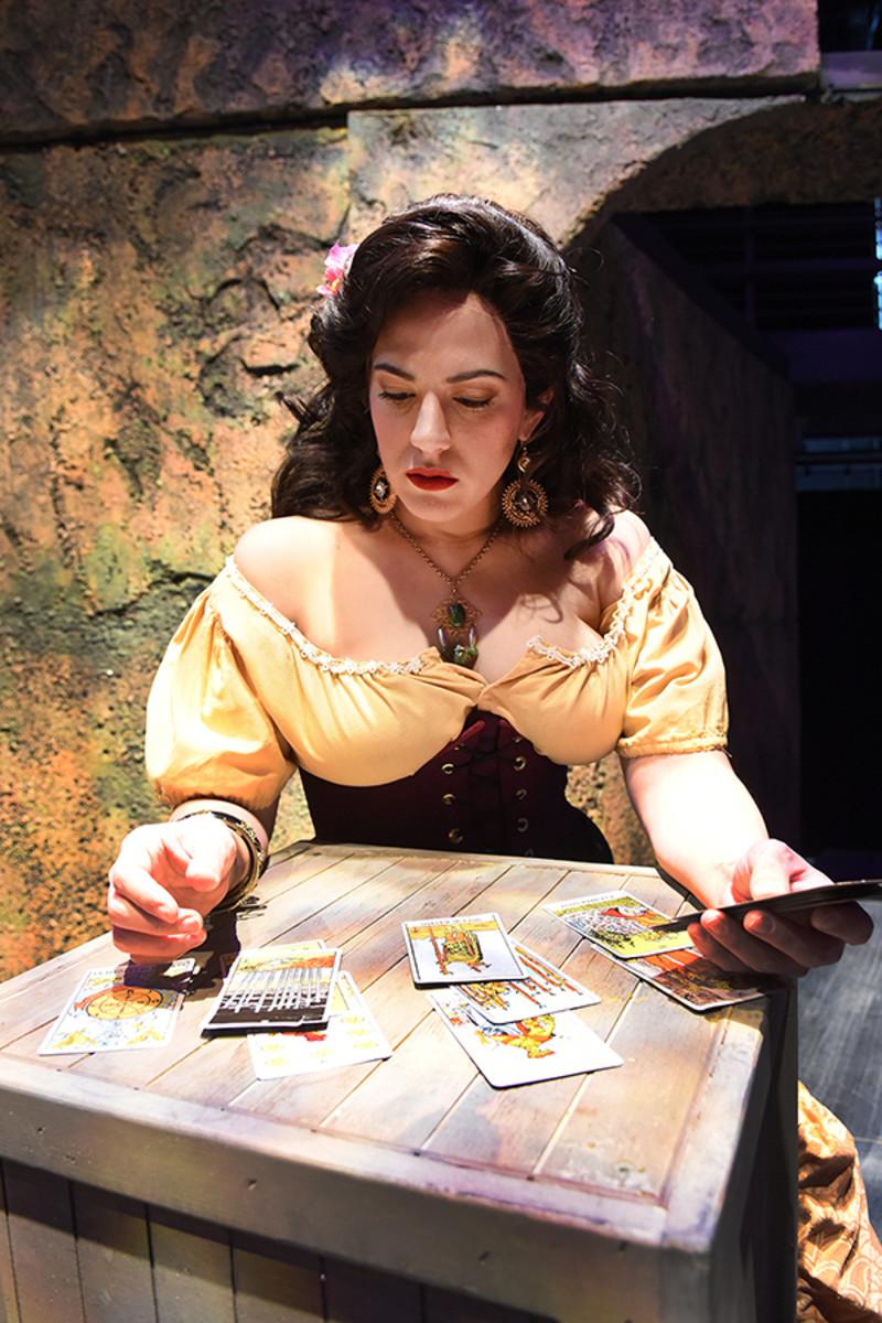 The Tarot Card Scene From the Opera Carmen