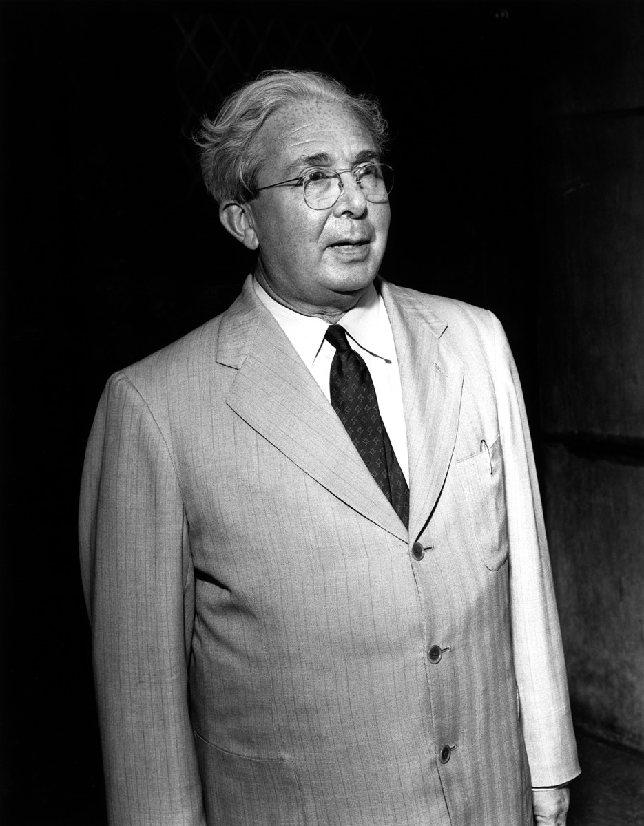 Physicists such as Leo Szilard were instrumental in using the prestige of the atomic scientist to press for objectives like international control of nuclear weapons.