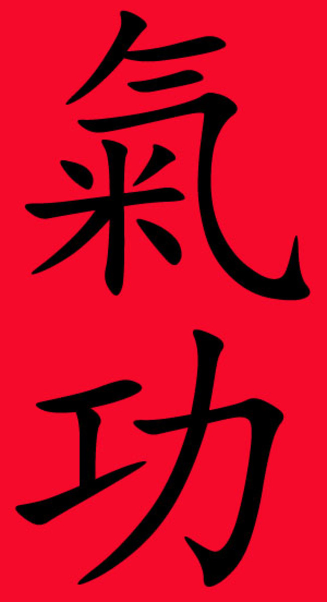 Qigong Chinese characters