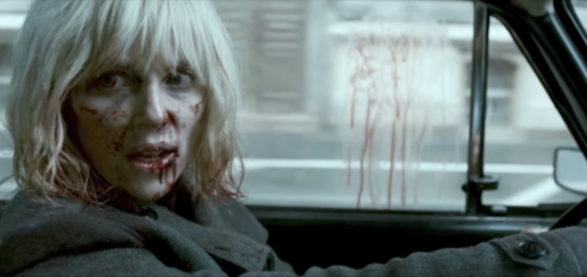 Courtesy of Focus Features.  Atomic Blonde featured a female spy kicking ass, but paying a bloody price for it.  For many viewers, that made the hero credible.