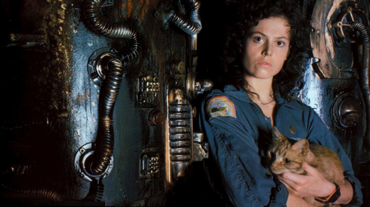 By Brandywine Productions.  The character of Ripley from 1979's Alien is still widely respected by most as one of the first and most credible female movie heroes of all time