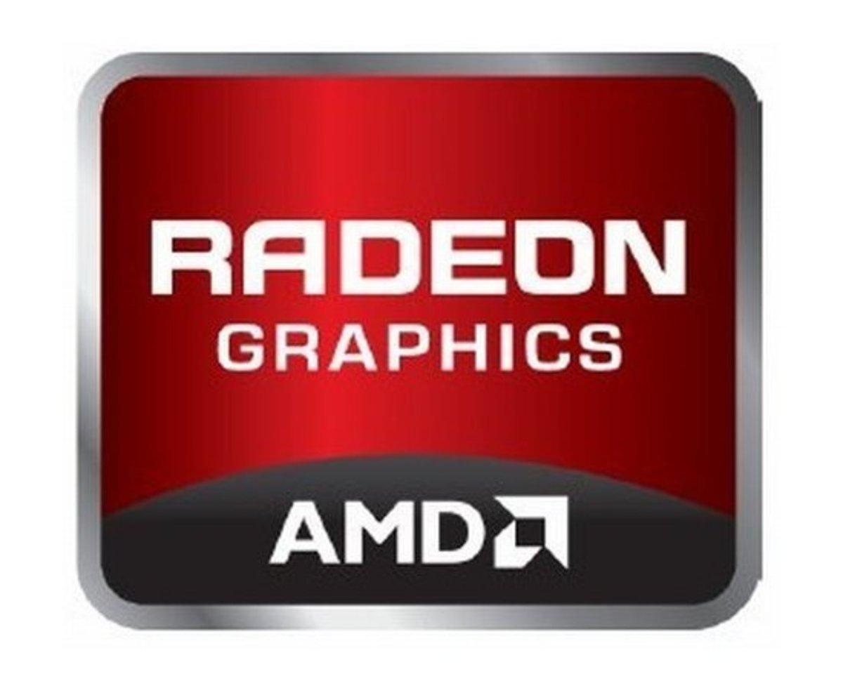 AMD Radeon logo.