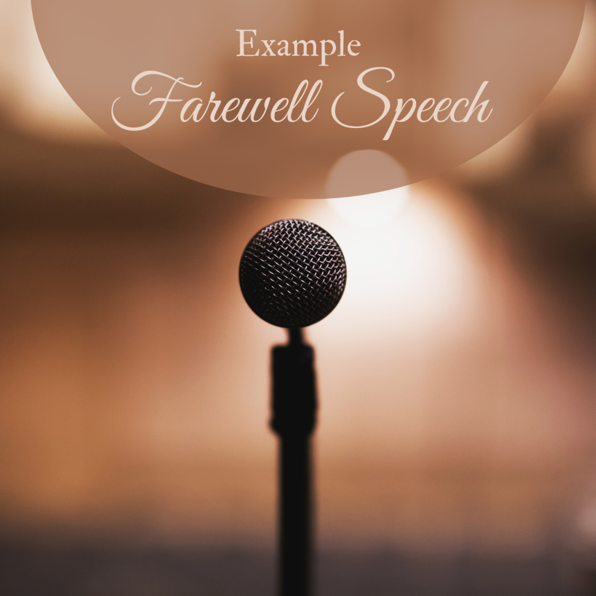 On occasion, you'll need to prepare a farewell speech to say goodbye and thank you to a departing teacher or mentor. Here's a sample you can use as inspiration.
