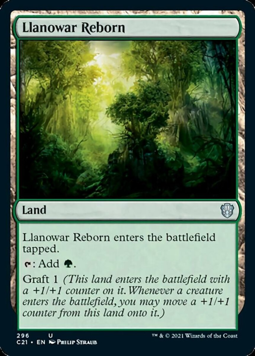Llanowar Reborn mtg