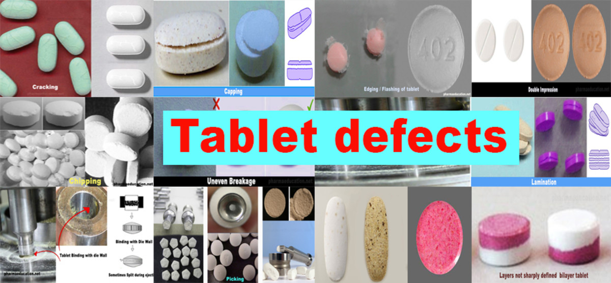 Various Issues Faced During Tablet Production.