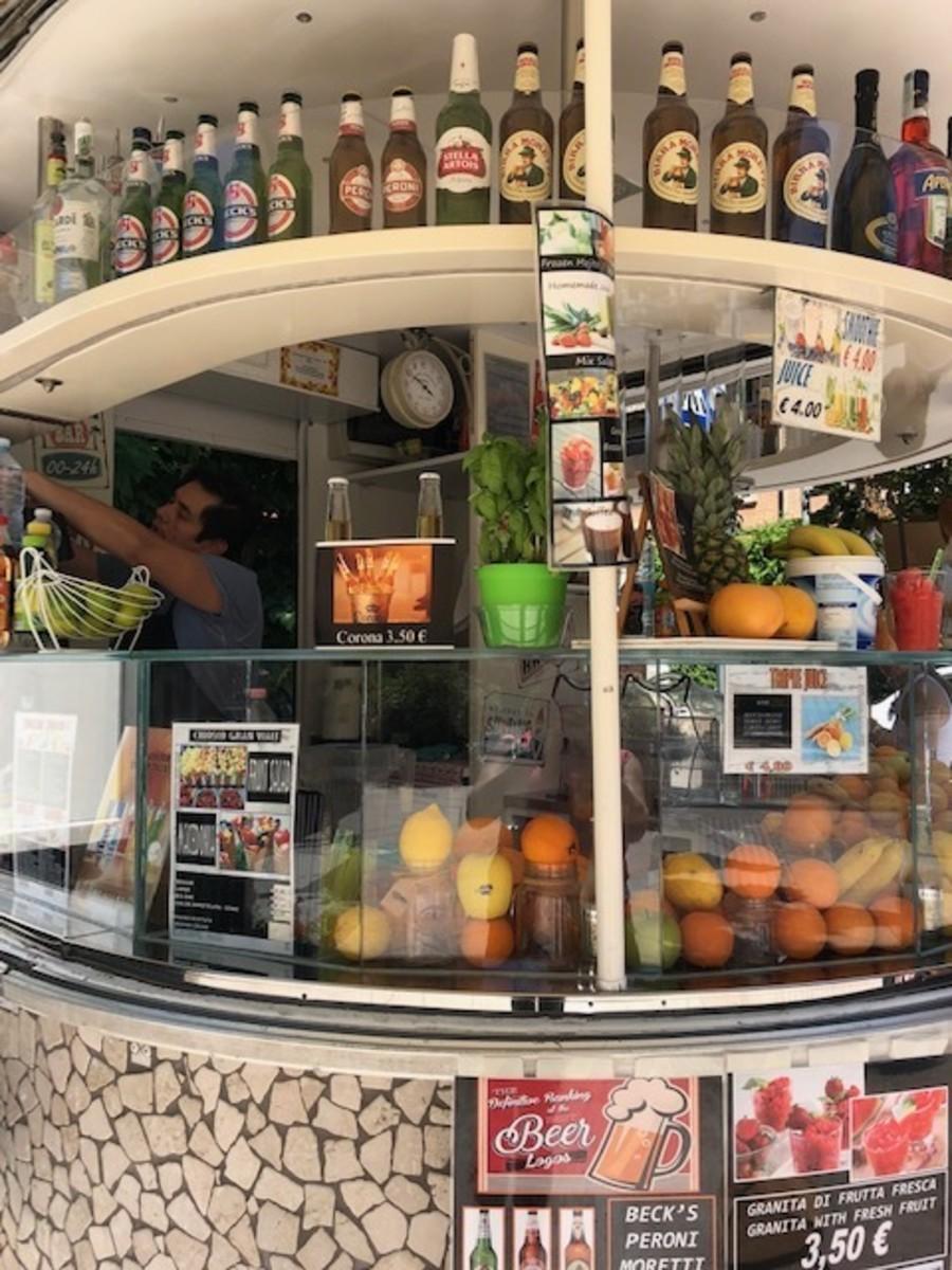 Cute Kiosk in El Lido