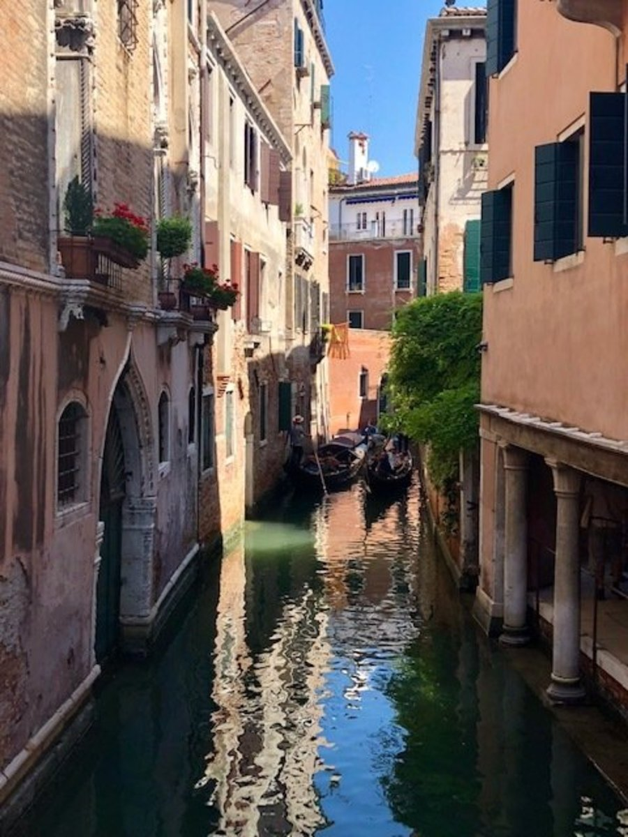 Tranquil Canal View, Venice