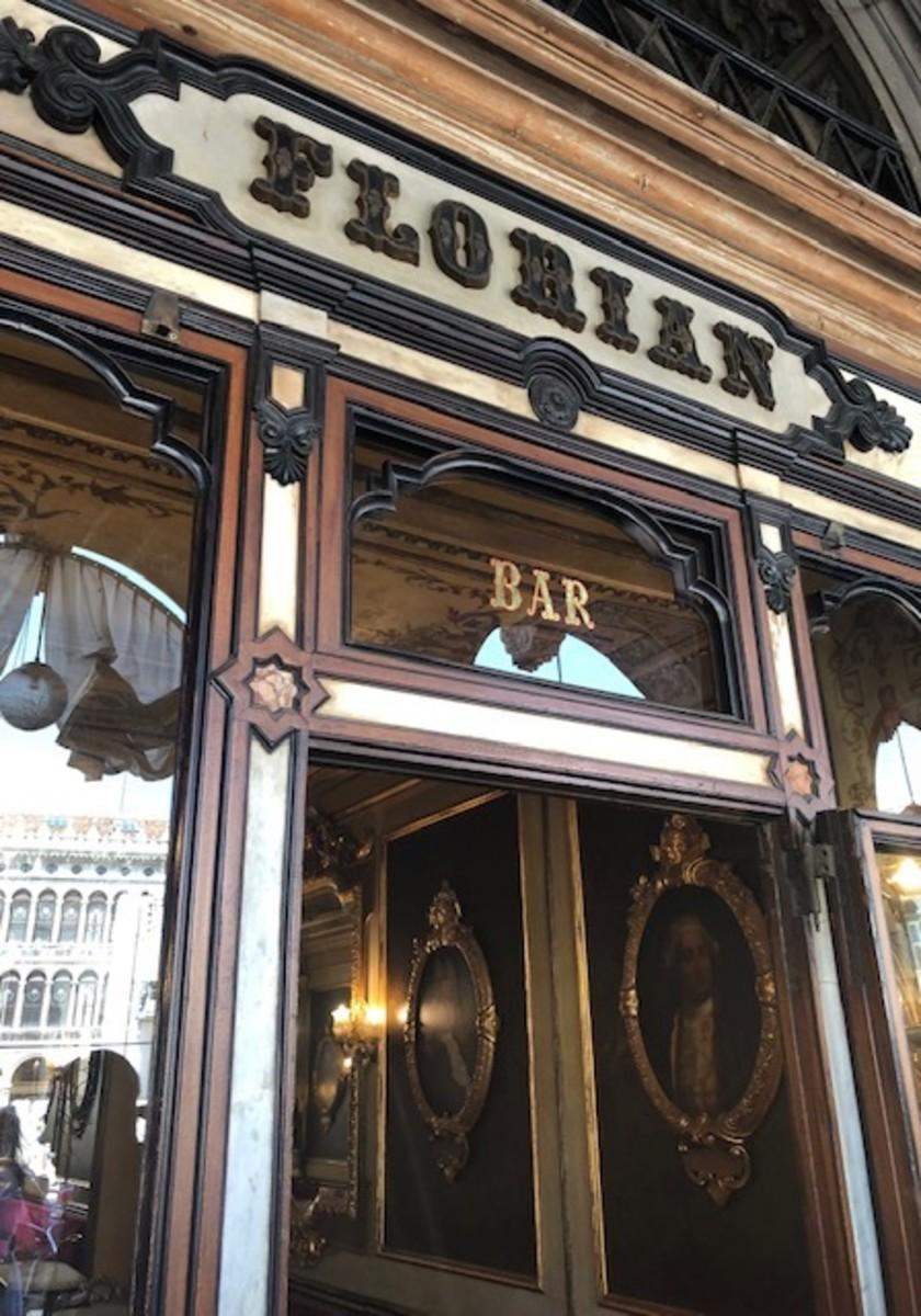 Historic Florian, open in Venice since 1720