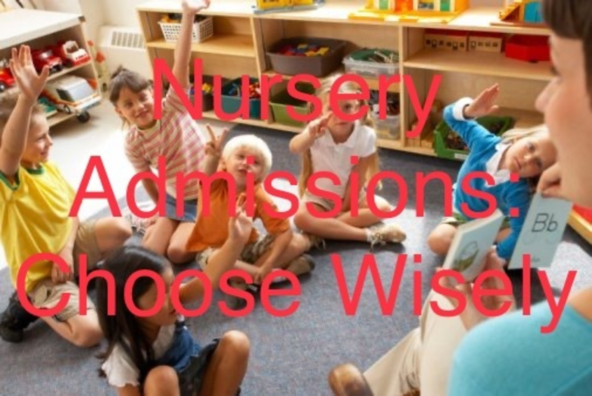 5 Points to Consider for Nursery or School Admissions of Your Kids