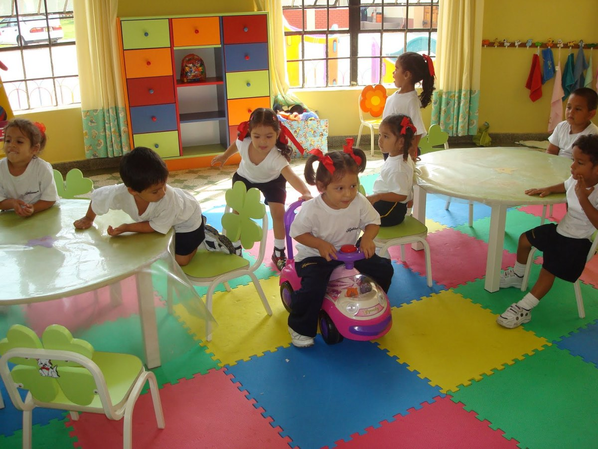 Pleasant atmosphere at the school, keeps the children happy and eager to learn.