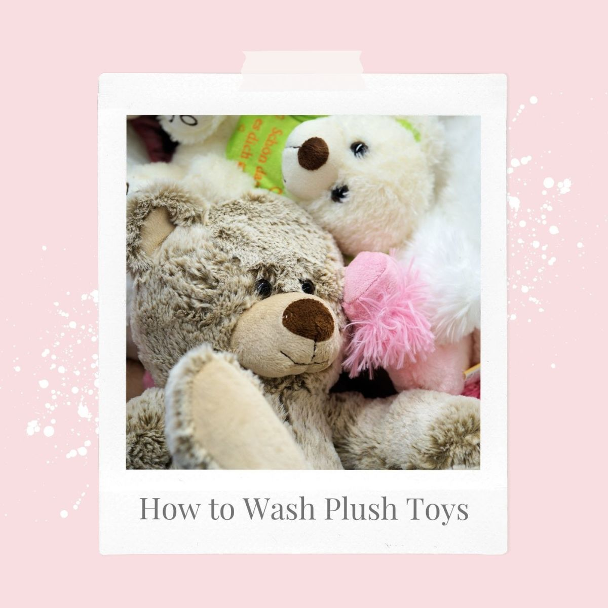 Everyone loves a good plush toy animal!