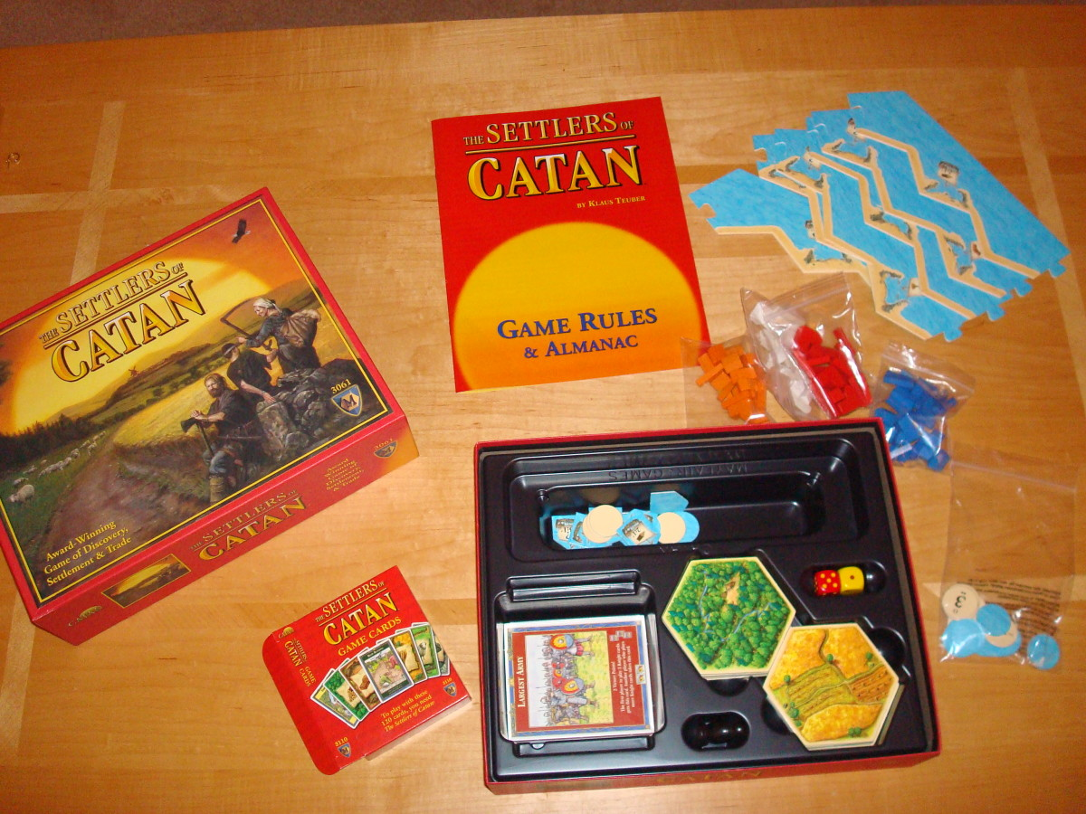 Cracking Open a Settlers of Catan Box