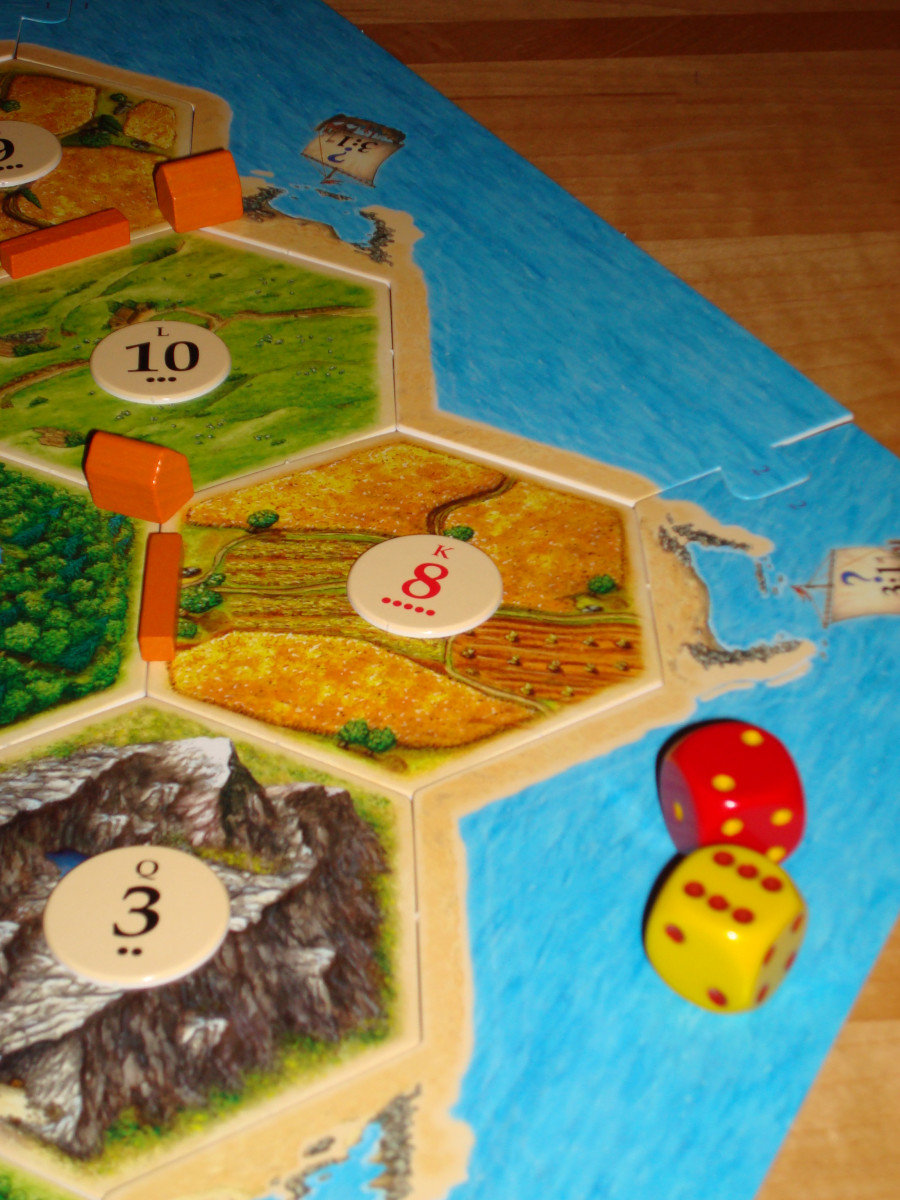 On the Same Roll of 8, Orange Harvests a Wheat Resource