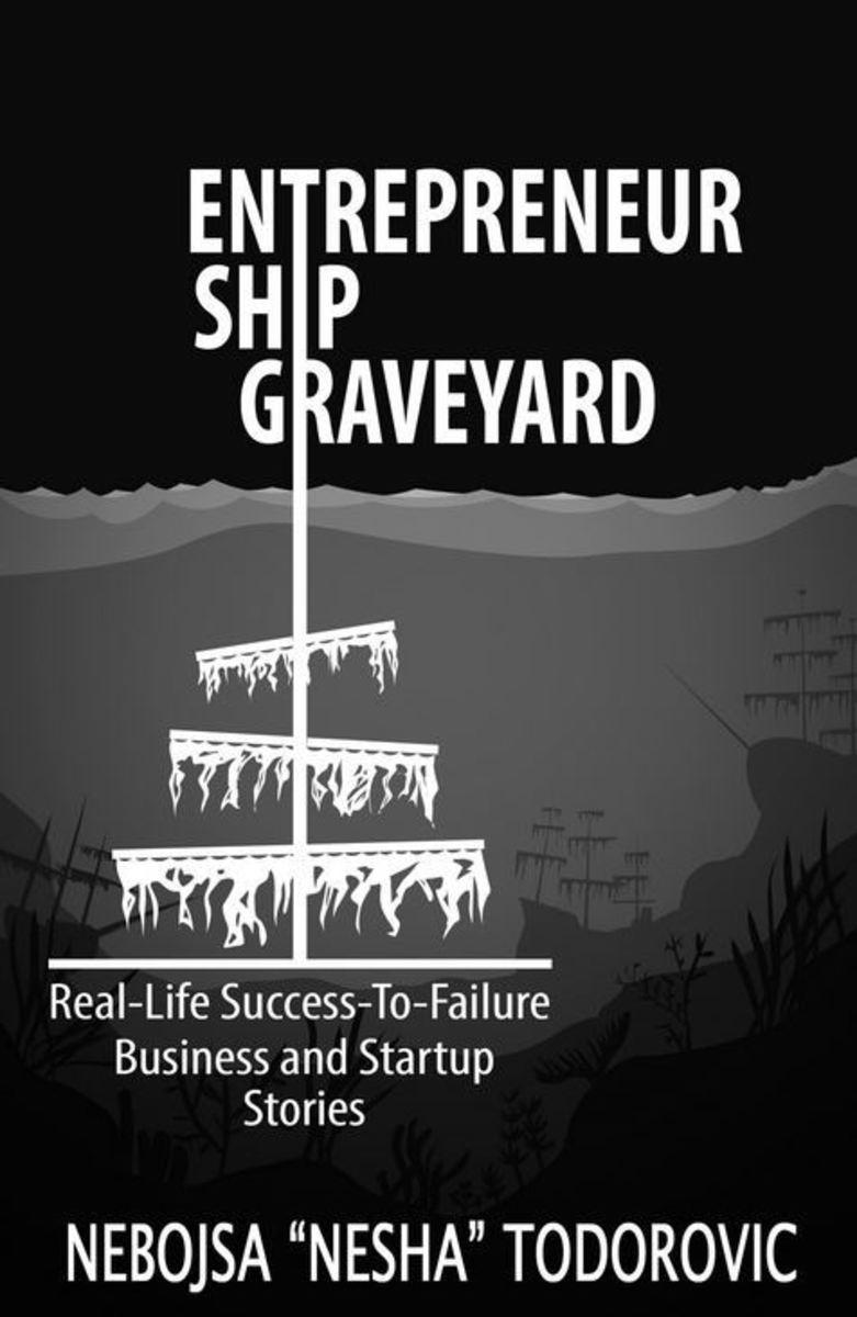 The Cover of Entrepreneurship Ship Graveyard