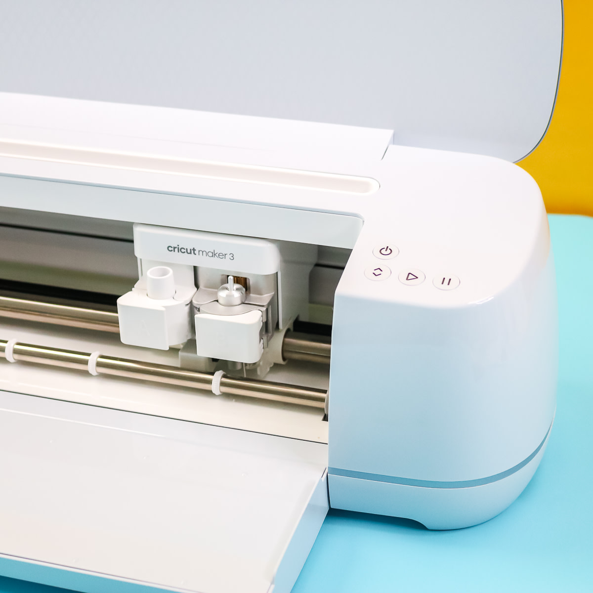 The buttons are actually the same as the Cricut Maker with a new look!