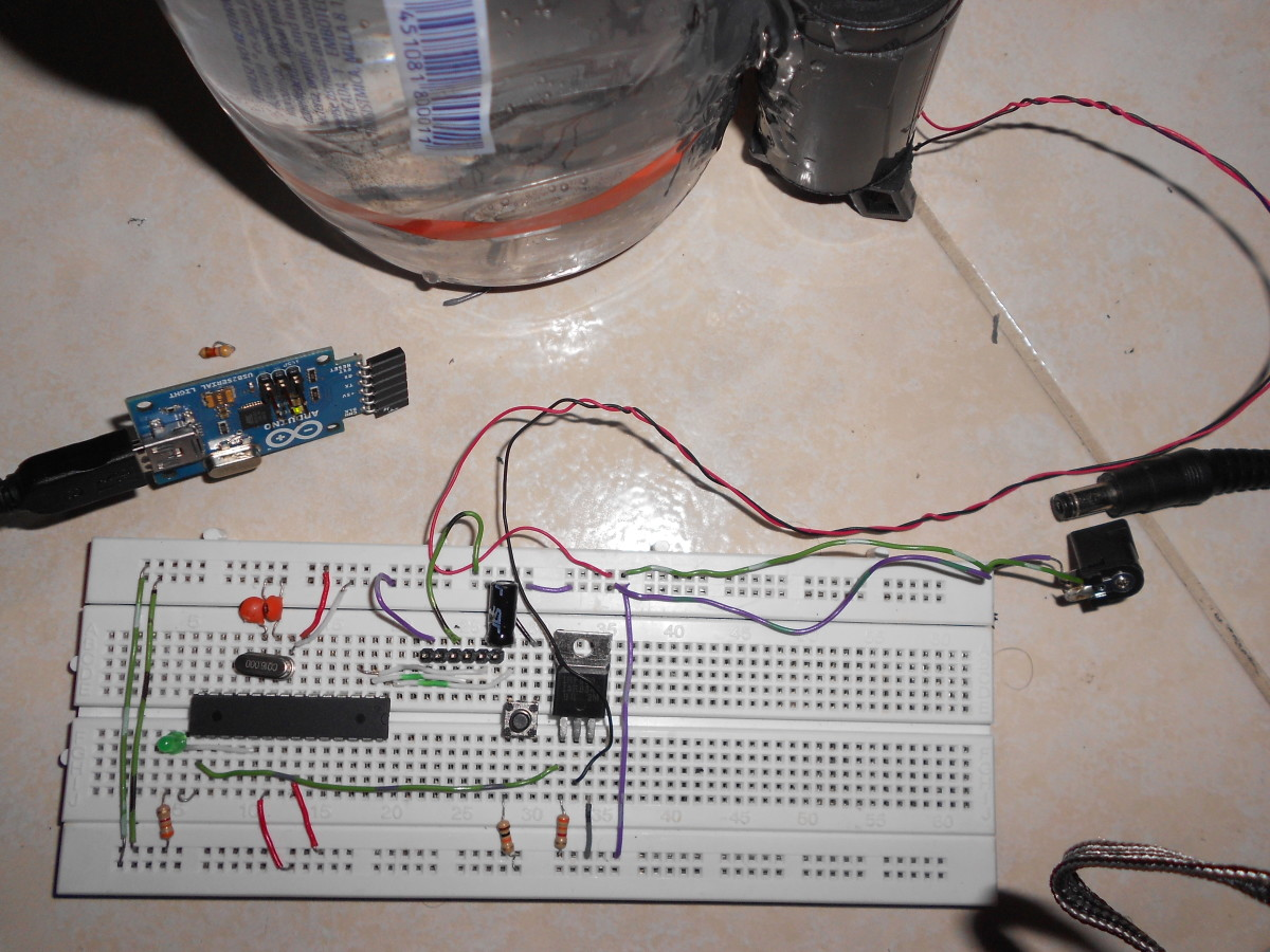 Building an Arduino controlled pump