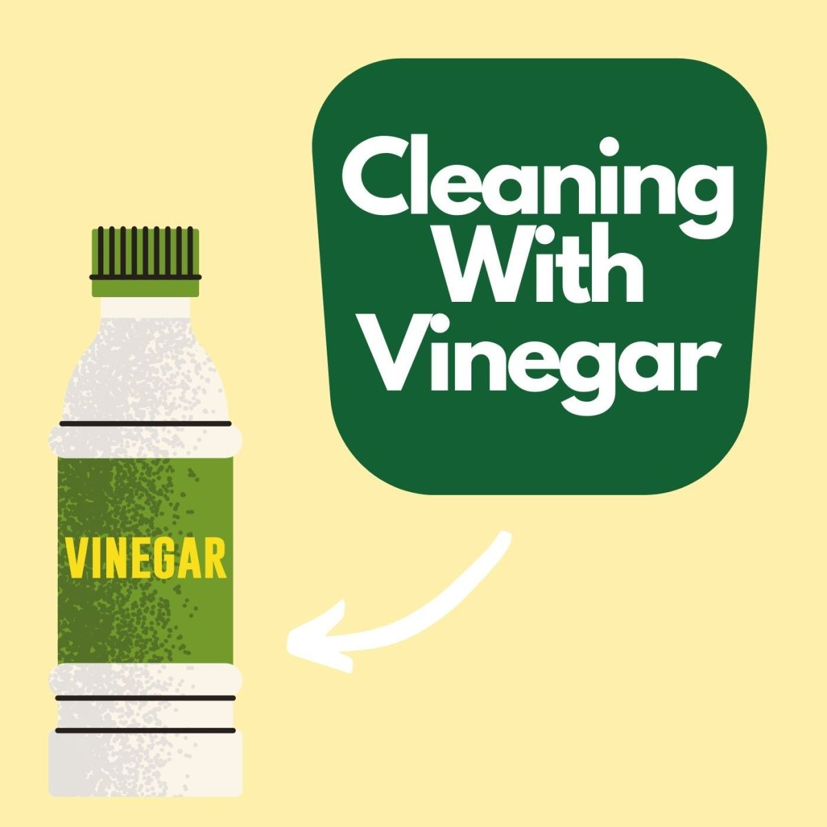 Cleaning with vinegar has many advantages.