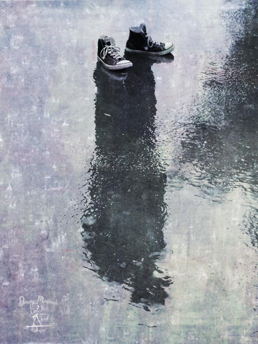 The Invisible Man, my digital photo manipulation