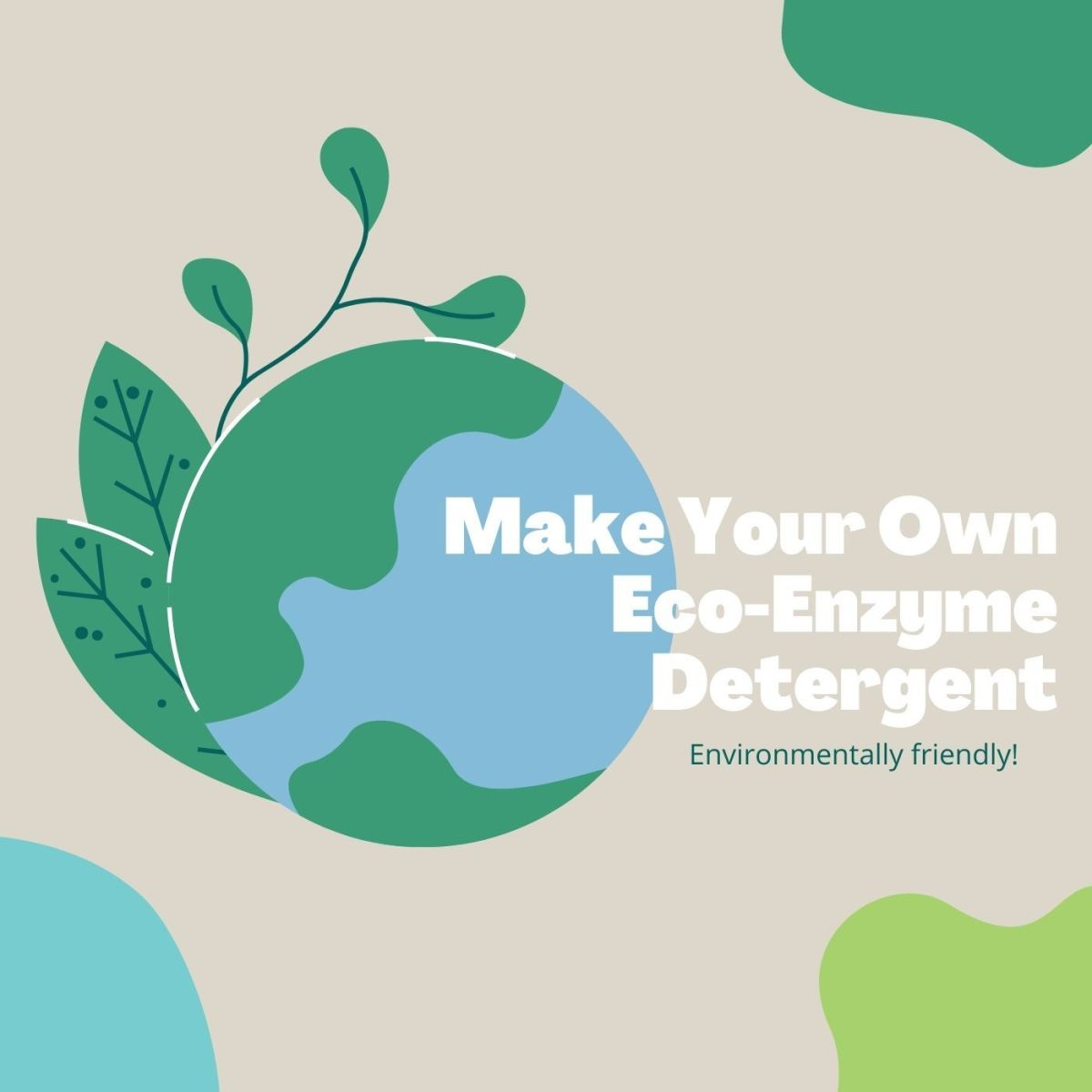 Making your own eco-friendly detergent has never been easier.