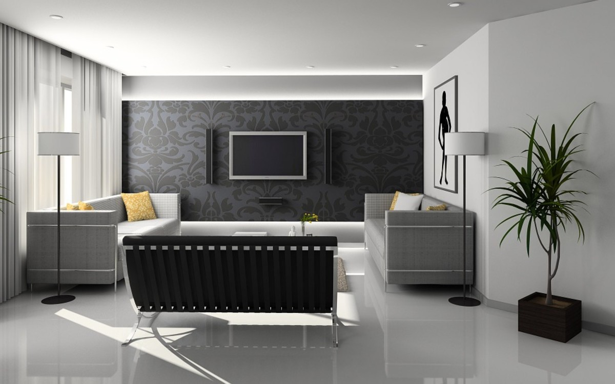 7 Simple Ways to Decorate with Black and White