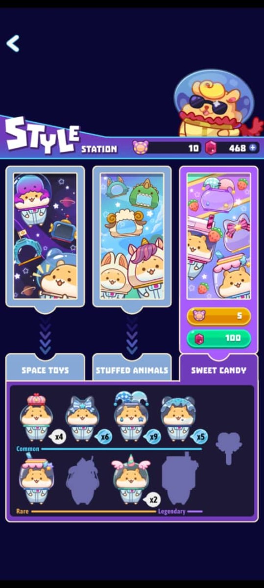 Collect spacesuits in the Style Station to get a new joystick!