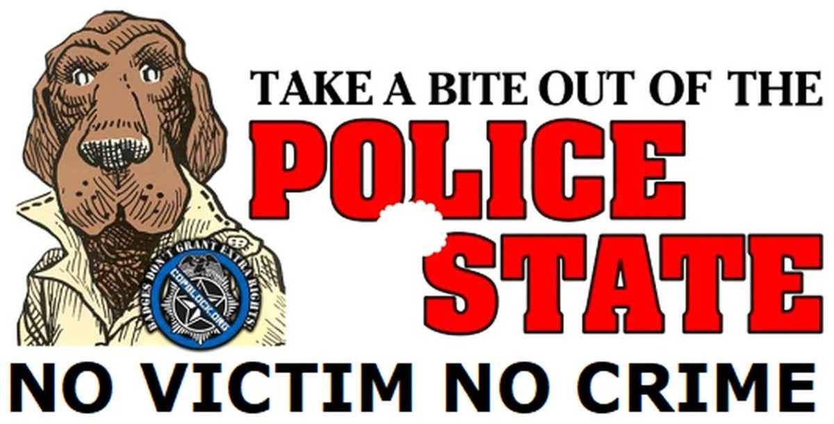 McGruff The Crime Dog Has Had Enough and Joins CopBlock