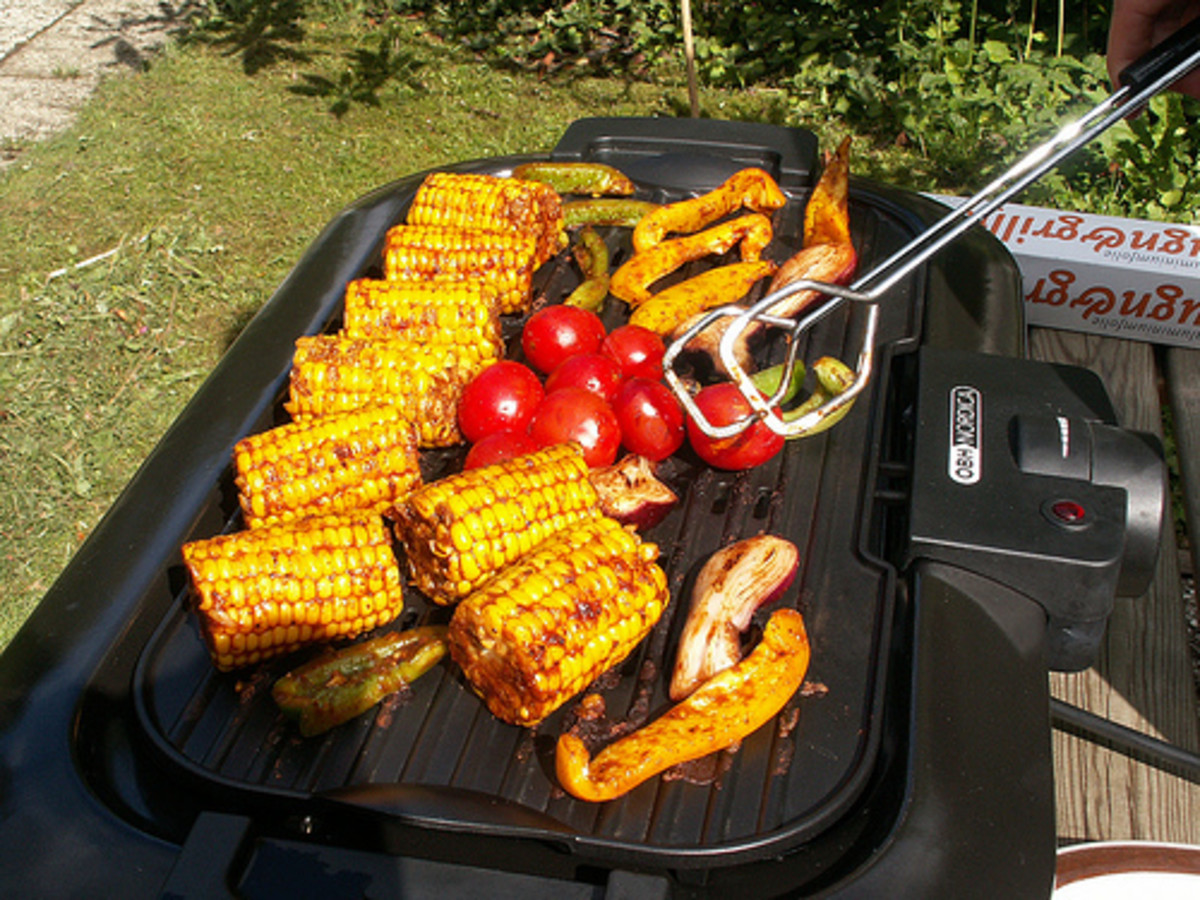 Electric grills are great for apartment dwellers.