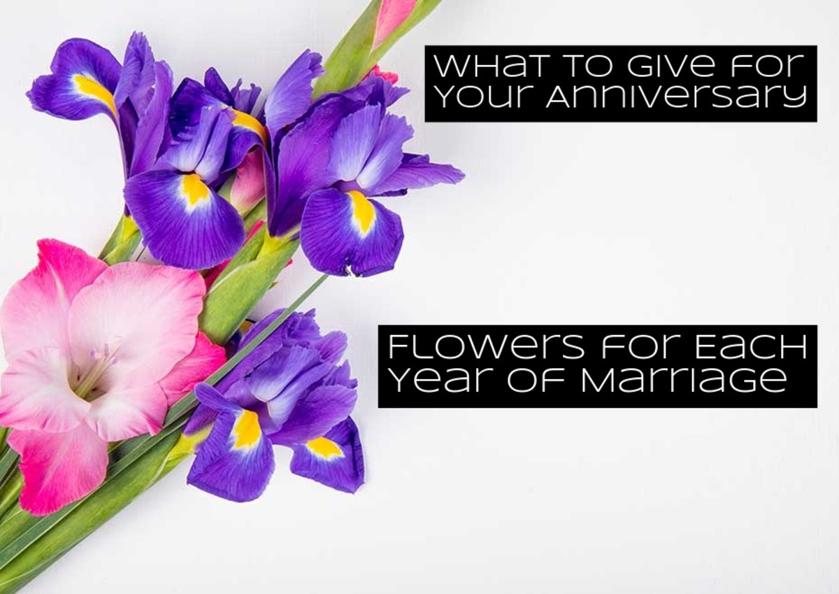The Right Flower to Give for Each Year of Your Marriage