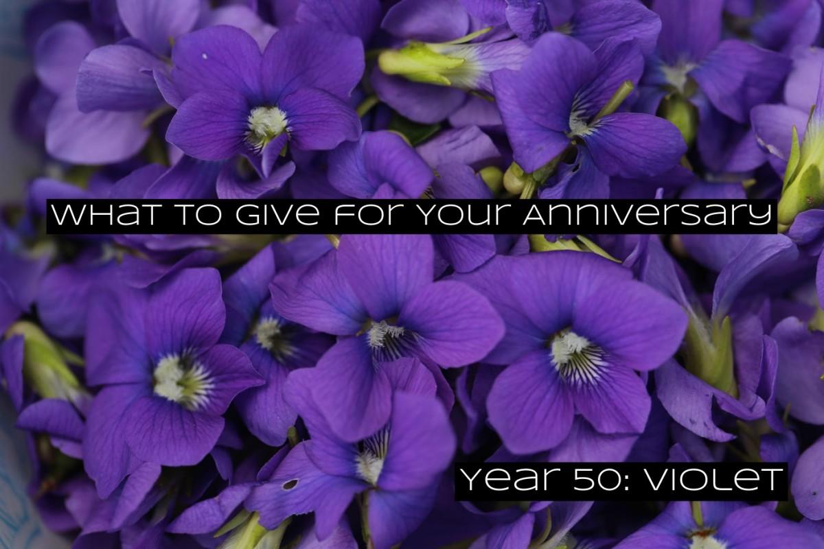 A violet is a symbol for dreams.