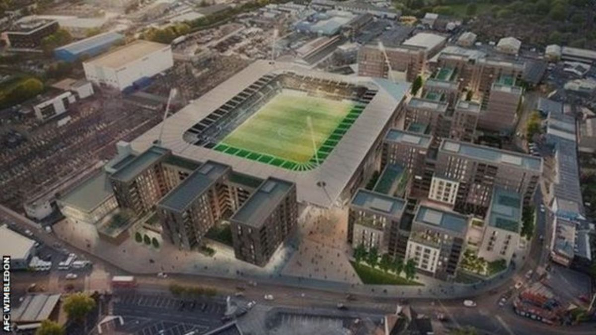 A completed Plough Lane in 2020.