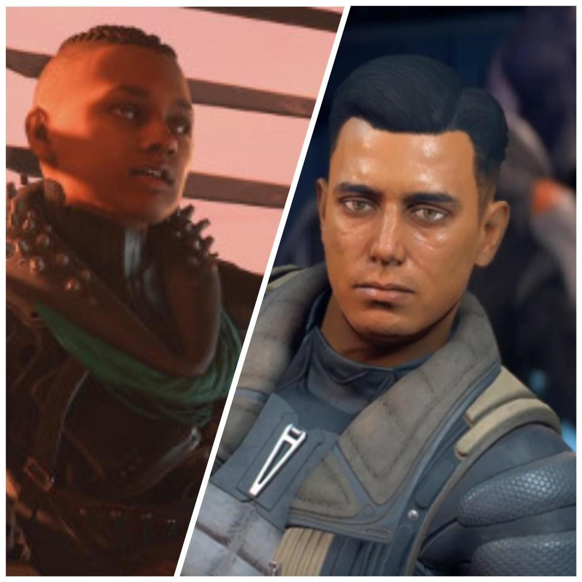 Reyes and Sloane screenshots.